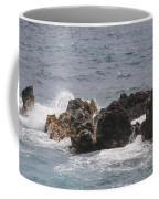 Ocean View At Wai'anapanapa State Park Coffee Mug