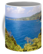 Ocean View From The Road To Hana, Maui Coffee Mug