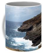 Ocean Vs. Rock Coffee Mug