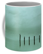 Oceanic Tranquility  Coffee Mug by Zina Zinchik