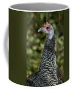 Ocellated Turkey Hen Coffee Mug