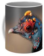 Ocellated Turkey Portrait Coffee Mug