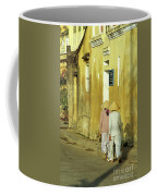 Ochre Wall 02 Coffee Mug
