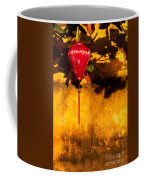 Ochre Wall Silk Lantern 03  Coffee Mug