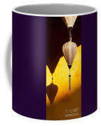 Ochre Wall Silk Lanterns  Coffee Mug