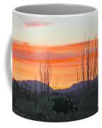 Ocotillo Sunset Coffee Mug