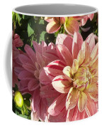 October Dahlia Field Coffee Mug