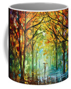 October In The Forest Coffee Mug by Leonid Afremov