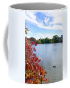 October On The Lake Coffee Mug