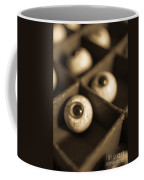 Oddities Fake Eyeballs Coffee Mug by Edward Fielding
