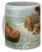 Odysseus And Polyphemus Coffee Mug