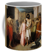 Oedipus And Antigone Or The Plague Of Thebes  Coffee Mug