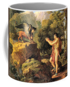 Oedipus And The Sphinx Coffee Mug