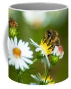 Of Bee And Flower Coffee Mug