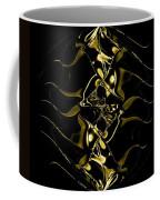 Of Golden Waves Coffee Mug