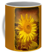 Of Sunflowers Past Coffee Mug