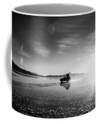 Off Road Uyuni Salt Flat Tour Black And White Coffee Mug