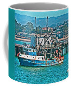 Off Shore Fishing Coffee Mug