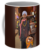 Offerings To Sani - Saturn - Pahar Ghanj Market - New Delhi Coffee Mug
