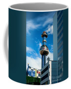 Office Building And Waste-to-energy Plant Vienna Coffee Mug by Stephan Pietzko