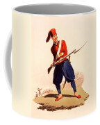 Officer Of European Infantry Of Ottoman Coffee Mug by Thomas Charles Wageman