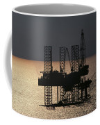 Offshore Drill Rig Platform Coffee Mug