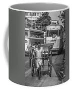 Oh Calcutta Monochrome Coffee Mug