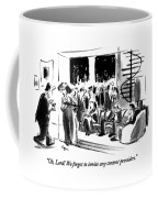 Oh, Lord!  We Forgot To Invite Any Content Coffee Mug