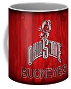 Ohio State Buckeyes Barn Door Vignette Coffee Mug