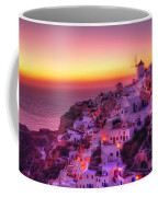 Oia Sunset Coffee Mug