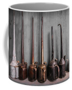 Oil Can Collection Coffee Mug by Debra and Dave Vanderlaan