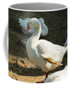 Oil Painting - A Duck Making A Pose Coffee Mug