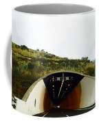 Oil Painting - Approaching A Tunnel Coffee Mug