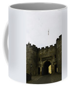 Oil Painting - British Flag Over A Doorway Inside The Stirling Castle Coffee Mug