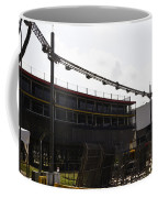Oil Painting - Lighting Support In Front Of Stands For The Formula One Race In Singapore Coffee Mug