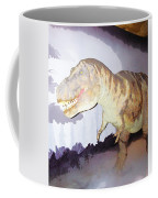 Oil Painting - Thankfully This T Rex Is A Dummy Coffee Mug