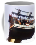 Oil Painting - Bridge As A Part Of Construction Coffee Mug