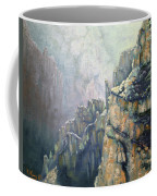 Oil Painting - Majestic Canyon Coffee Mug