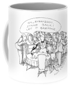 O.k., Everybody.  Stand Back! Let It Breathe Coffee Mug