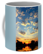 Okavango Delta Sunset Coffee Mug