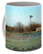Oklahoma Farm In Winter Coffee Mug