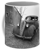 Old And Forgotten Black And White Coffee Mug