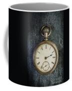 Old Antique Pocket Watch Coffee Mug