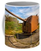 Old Artillery Gun - Ft. Stevens - Oregon Coffee Mug