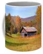Old Barn Along Slick Fisher Road Coffee Mug