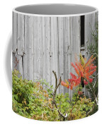 Old Barn In Fall Coffee Mug by Keith Webber Jr