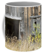 Old Barn In Fall Maine Coffee Mug