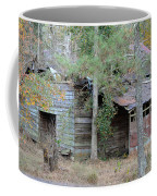 Old Barn With Side Shed Coffee Mug