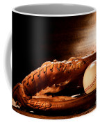 Old Baseball Glove Coffee Mug