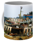 Old B.c. Rusted Ferry Coffee Mug